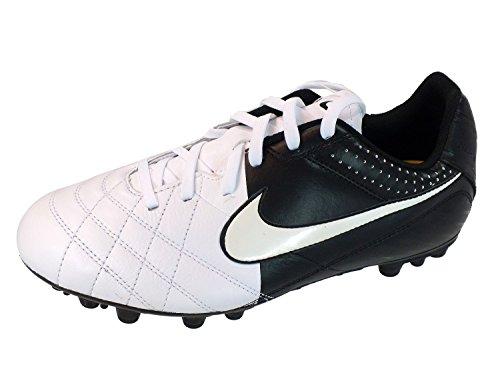 Nike Men's PRO Dri-FIT-Coupe-Vent à manches courtes pour homme avec col en V Blanc - Blanc
