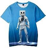 Camiseta para Niños 3D Impresión Gráfica DJ Cool Hip Hop Manga Corta(S)