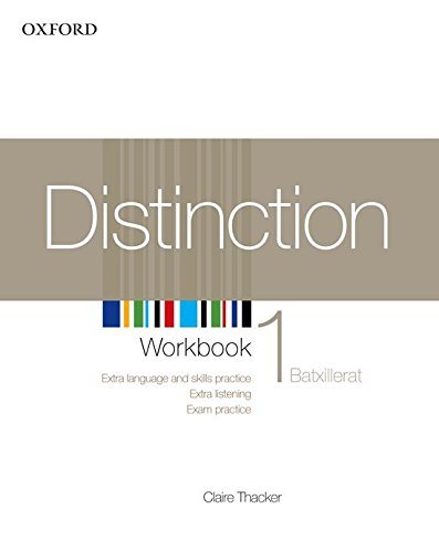 Distinction 1: Workbook (Catalan) - 9780194624039