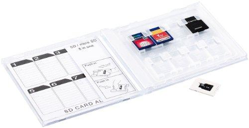 Preisvergleich Produktbild General Office SD-Karten-Album in CD-Hülle, für 8 Stück
