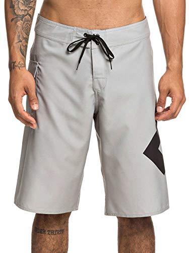 DC Apparel Herren Lanai 22 Zoll Boardshorts, Neutral Gray, 32 (Marathon Kordelzug)