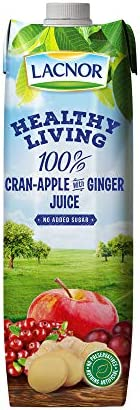 Lacnor Health Living Cranberry, Apple & Ginger - 1 L