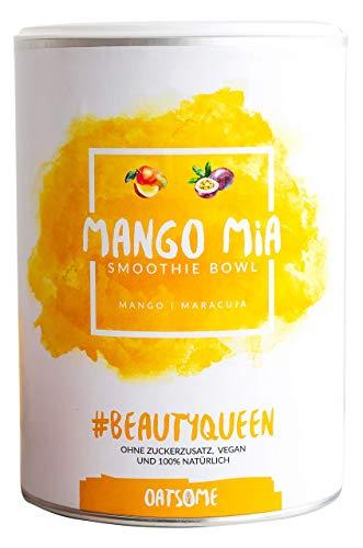 Mango Mia - NEU mit Maracuja - Nährstoff Frühstück mit 100% Natürlichen Zutaten & ohne Zusatzstoffe und raffinierten Zucker - Lange satt mit nur 200 kcal - 400g