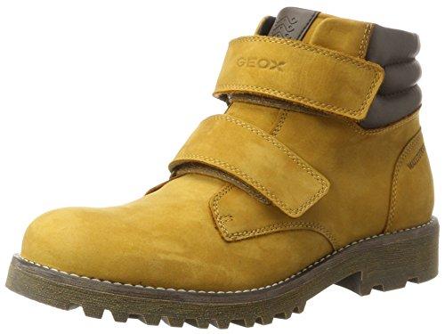 Geox Jungen J Axel Boy Wpf C Combat Boots, Gelb (Ochreyellow), 35 (Kinder Boots Combat)