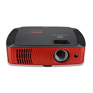 Acer Z650 1080p Predator Short Throw Gaming Projector, Black/Orange