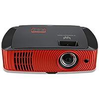 Acer Predator Z650 Kurzdistanz Gaming Full HD DLP-Projektor (1920 x 1080 Pixel, 144 Hz Triple Flash, inkl. 2x Predator 3D Brillen) rot