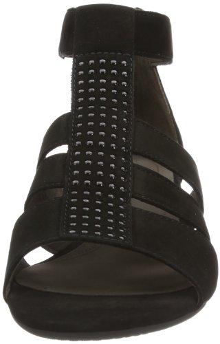 Gabor Shoes Gabor 85.848.17, Sandali Donna Nero (Schwarz (schwarz))