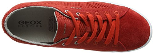 Geox Herren U Smart B Low-Top Rot (RED/REDC7015)
