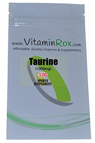 Taurine 120 Compresse Richiudibile Foil Package Sport Supplemento