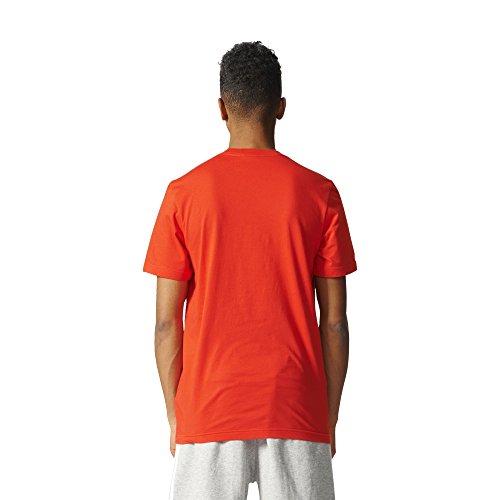 Adidas Originals Herren Originals Trefoil Tee rot (Core Red)