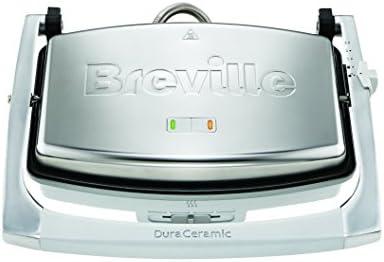 Breville DuraCeramic VST071X - Sandwichera de tamaño mediano con revestimiento