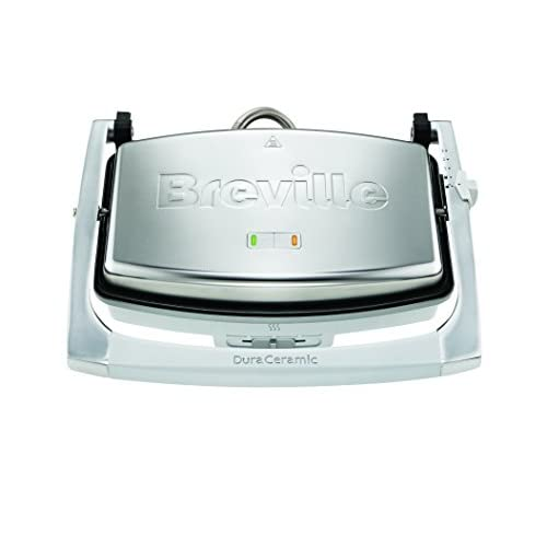 411EV%2BJzA9L. SS500  - Breville VST071 Dura Ceramic Sandwich Press,Light Grey
