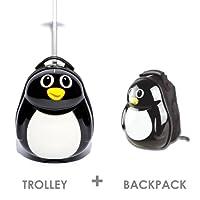 Originale 1 Trolley per bambini e 1 zaino Pinguino di FERGÉ FERGÉ - la marca innovativa francese sinonimo di materiali innovativi a basso impatto ambientale.  informazioni sono disponibili sul sito internet Ferge ParisIl trolley ha due rotell...