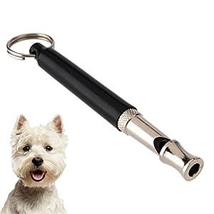 LUPO® Sifflet pour chien premium pour arrêter d'abboyer, l'aide à l'entrainement des animaux de compagnie