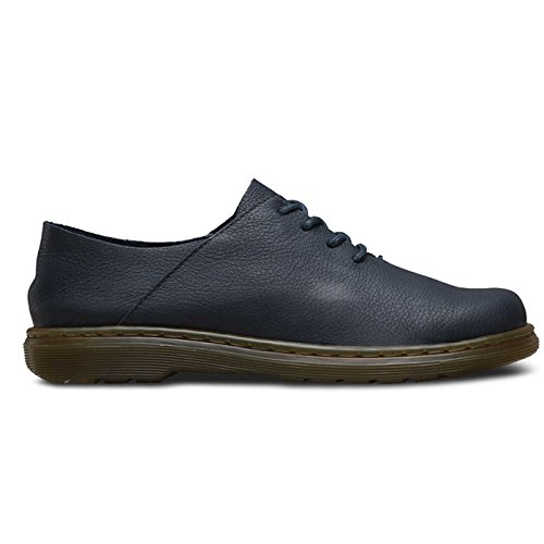 Dr.Martens Womens Lorrie II Virginia Leather Shoes Abito Blues
