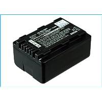 2x BATERIA para Panasonic hdc-tm70 hdc-tm80gk hdc-tm80k hdc-tm80p con info chip