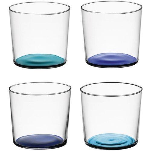 ro Trinkgläser, 310ml (4Stück) blau ()