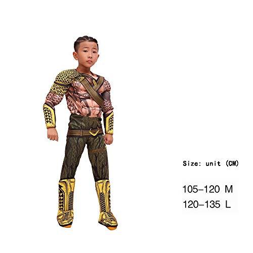 Sheci45 Kid Boys, Mädchen, Halloween Kostüm Cosplay Outfit Motto-Geburtstagsfeier, Cosplay Kostüme Kinder 3D-Stil
