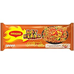 Maggi Hot Heads Noodls, Peri Peri Pepper, 284g