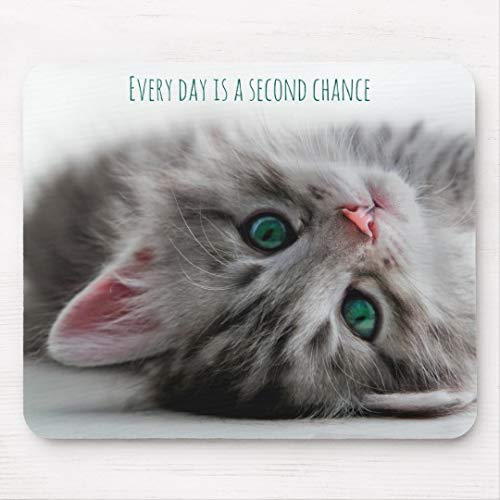 JAMILA Kätzchen mit grüne Augen-Mausunterlage Kätzchen Mit Grüne Augen-Mausunterlage Mousepad -