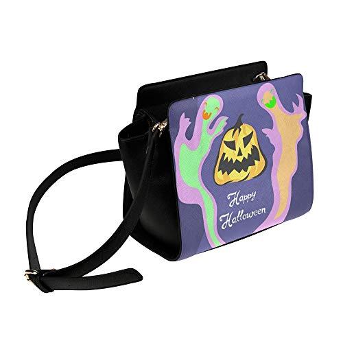 Coole Halloween Creep Fun Ghost Umhängetasche Umhängetaschen Reisetaschen Seesack Umhängetaschen Gepäck Organizer Für Lady Girls Womens Work Shopping Outdoor