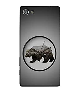 Fuson Designer Back Case Cover for Sony Xperia Z5 Compact :: Sony Xperia Z5 Mini (Jungle ka raja Sher Tiger Forest Vintage )