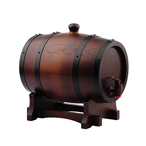 IAIZI Wine Shelf Eichenfässer, die Ausrüstung ohne Liner backen, selbst gebraute Traubenbehälter...