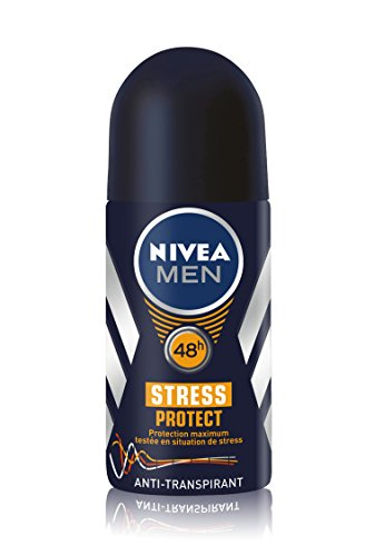 Uomini Nivea Deodorant Bille uomo stress Protect 50 ml - Lotto di 2