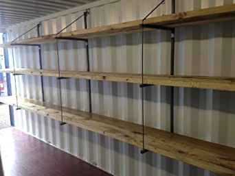 Insta Shipping Container Shelving brackets (set of 3)