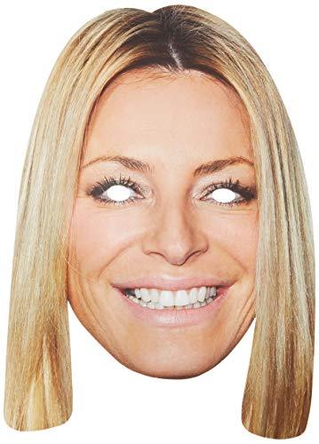 Tess Daly Celebrity Face Card Mask, Mask-arade, Impersonation/Fancy Dress