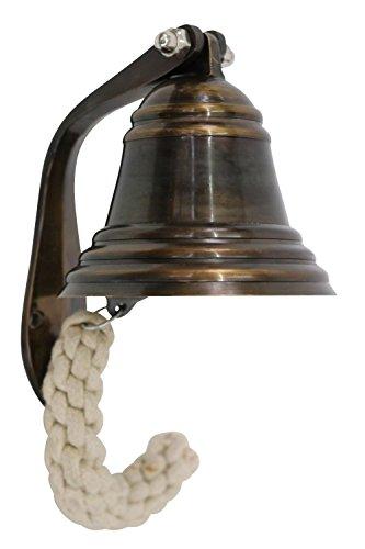 Antike Schiff Glocke (Glocke Schiffsglocke Dekoration Schiff Maritim Nautik Deko Antik-Stil)