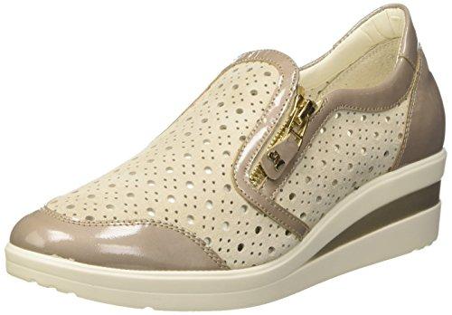 Sneaker Melly Damen Donna-walk Beige (misca)