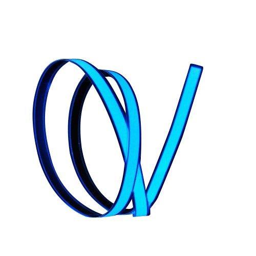 Wire-pink Led (Lychee Flexibel 1M 3ft Neon Glowing Strobing Electroluminescent Wire mit 3 Modis für Werbung und Party (Blau))