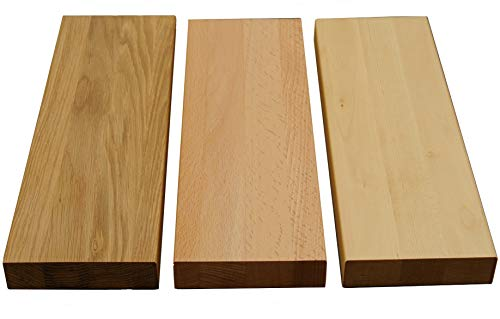 Holz-Projekt-Summer Türschwelle Kernbuche Massivholz Stärke:19mm Schwelle Holzschwelle Bodenschwelle für Innentüren Echtholz geölt (69.2cm (73.5er Tür) x 137mm)
