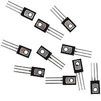 Transistor - SODIAL(R) 10 pzs 2N5551 NPN Transistor de potencia media D882
