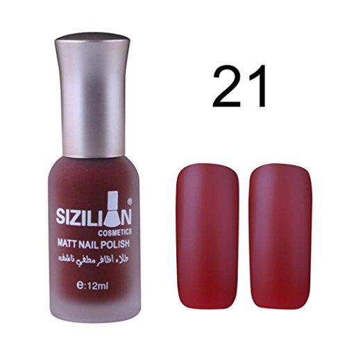 TIREOW Ultra deckender Farblack, Complete Salon Manicure Nagellack mit Keratinkomplex Raisin the Bar, Rosé, glänzender Pflegelack ohne UV-Licht (A)