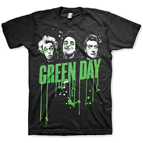Green-day-bedruckte T-shirts (Bravado Herren T-Shirts   - Schwarz - Black - xl (Herstellergröße: X-Large))