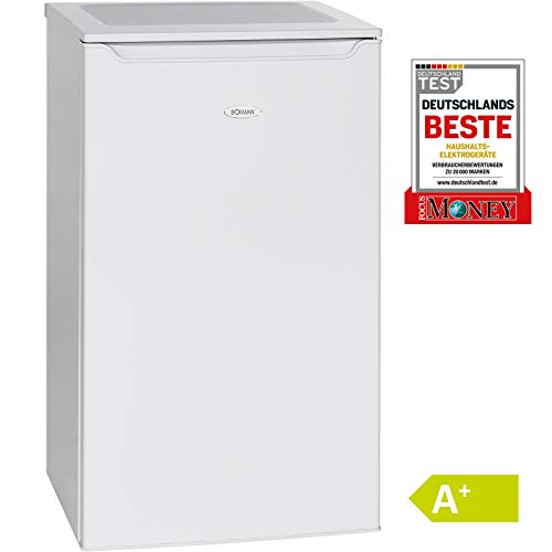 Bomann KS 2261 Kühlschrank / A+ / 85.3 cm / 109 kWh/Jahr / 74 L Kühlteil / Eisfach / weiß
