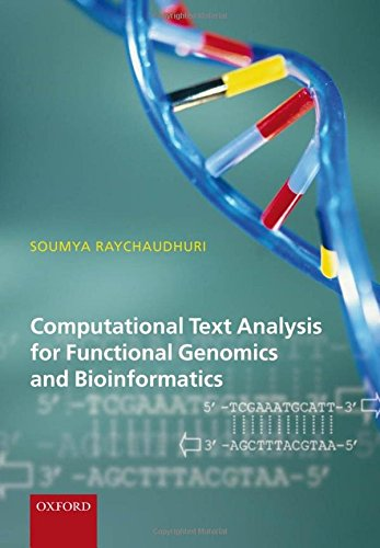 Computational Text Analysis: for functional genomics and bioinformatics