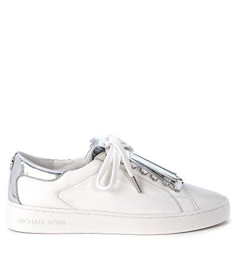 Michael Kors Sneaker Keaton Kiltie Sneaker Optic White Silver 40