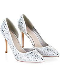 Monsoon Escarpins étincelants ornés de strass Rhea - Femme