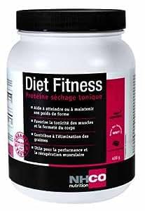 NHCO NUTRITION - NHCSFDIEC119 - Hyperprotéinés Sucrés Diet Fitness - Boîte de 400 g