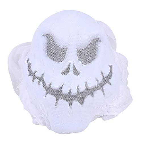 KISSFRIDAY White Hanging Ghost Spukhaus Dekoration Bewegung aktiviert Scary Halloween Dekoration (Bewegung Aktiviert Halloween-dekoration)