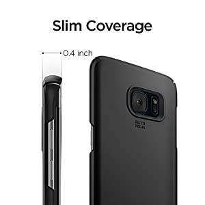 Spigen Thin Fit Case for Samsung Galaxy S7 Edge - Black 556CS20029