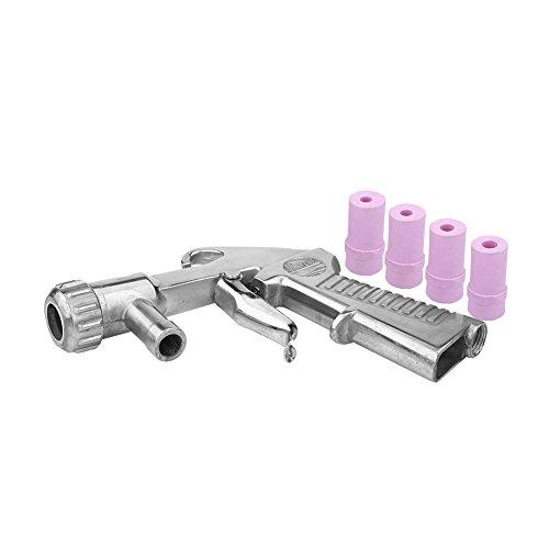 Pistola per Sabbiatura Professionale Sandblaster Air Sifone Feed Blast Gun Nozzle Ceramic...