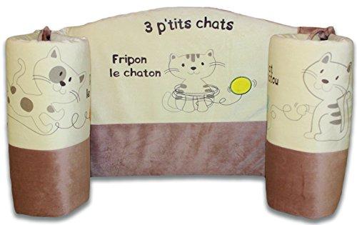 Les Chatounets Les 3 p'tits chats Tour de Lit