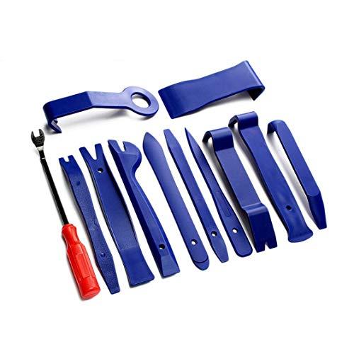 Preisvergleich Produktbild Hermosairis 12 Stücke Tragbare Auto Auto Radio Panel Tür Clip Panel Trim Dash Audio Entfernung Installer Werkzeuge Repair Tool Kit Handwerkzeuge