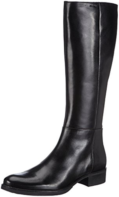 Geox Donna Meldi Stivali Damen Reitstiefel 2018 Letztes Modell  Mode Schuhe Billig Online-Verkauf