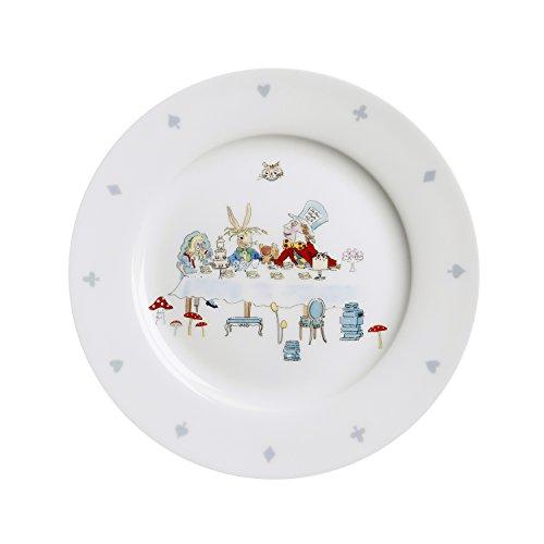 Sophie Allport Assiette en porcelaine fine – Collection Alice au Pays des Merveilles