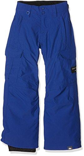 Quiksilver-Pantaloni Porter Sodalite da sci da ragazzo, colore: blu, taglia: 16 anni (taglia del produttore: XXL) 16